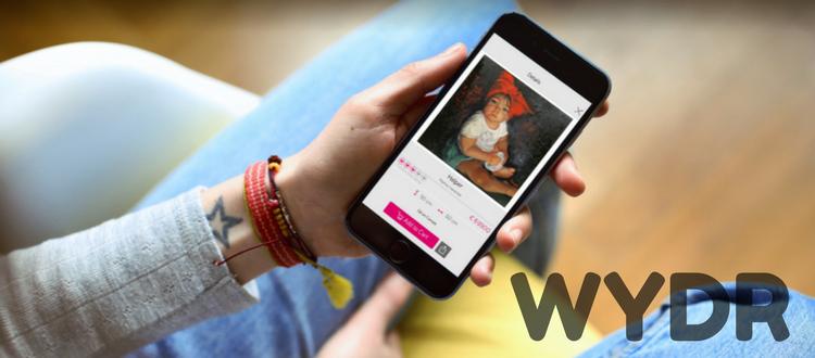 Il mercato dell'arte per i millennials: il caso Wydr